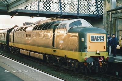The Deltic Scarborough Flyer 28-12-2002