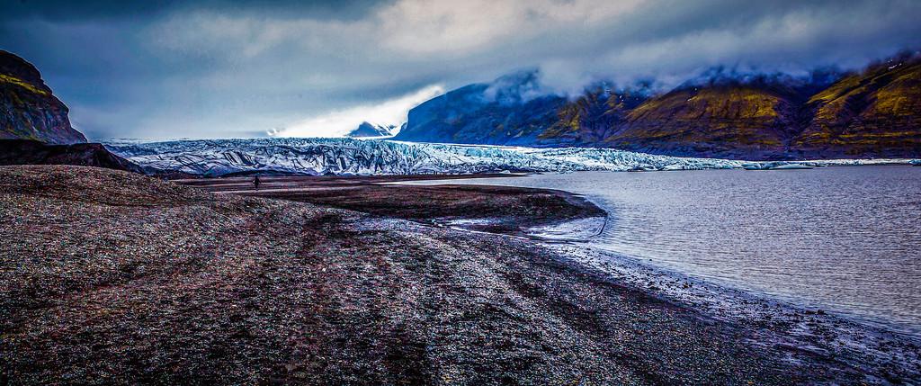 冰岛瓦特纳冰川(Vatna Glacier),走进它
