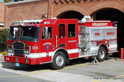 Peabody, MA Fire Apparatus