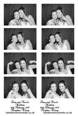 Lara and Suzzi's Wedding at Knightor Winery 16-02-19