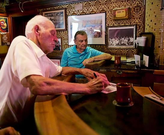 Don Larsen visits Old Ironsides in Sacramento