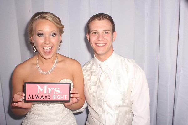 Cody and Ashley's Wedding Photobooth