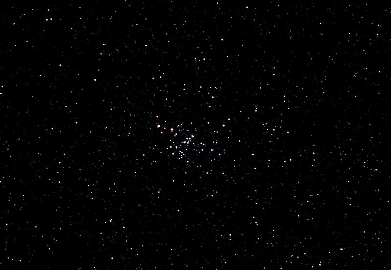 Messier M93 - NGC2447 Open Cluster in Puppis - 2/2/2013 (Processed cropped stack)