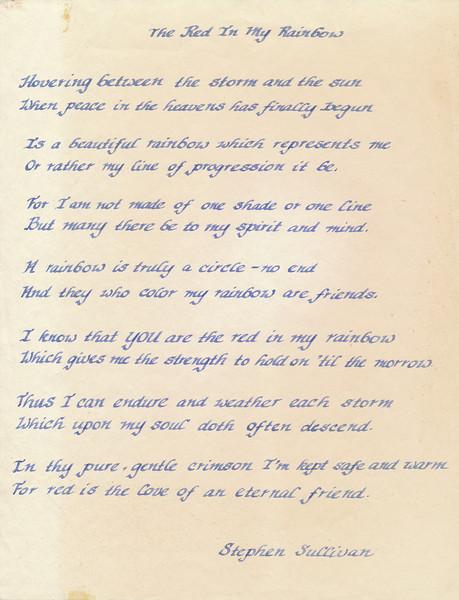Poem By Stephen Sullivan (The Red In My Rainbow).jpg