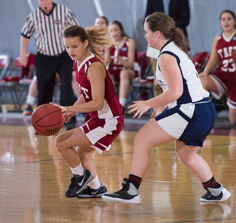 2/13/16: Girls' JV Basketball v Hotchkiss