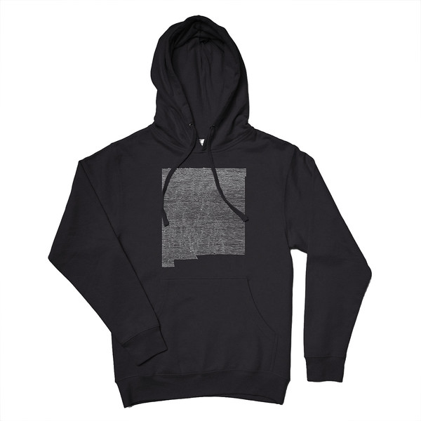 Organ Mountain Outfitters - Outdoor Apparel - Hooded Pullover - New Mexico Mountain Range Hoodie - Black.jpg