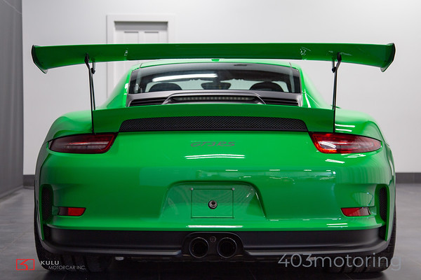 '16 911 GT3 RS - Viper Green