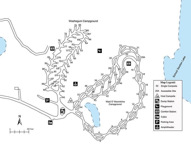 Lake Metigoshe State Park (Washegum & Maid O'Moonshine Campgrounds)