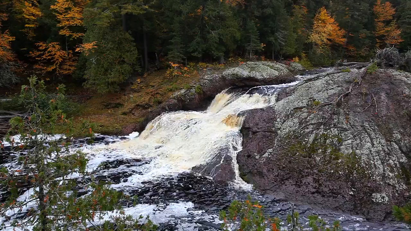 Fall Splendor - Great Conglomerate Falls (Black River Scenic Byway - Ottawa National Forest)