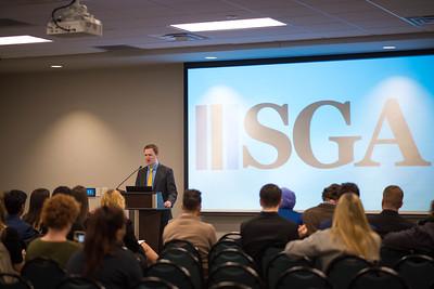 SGA  Inauguration