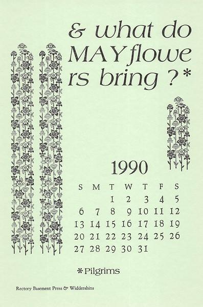 May, 1990, Rectory Basement Press