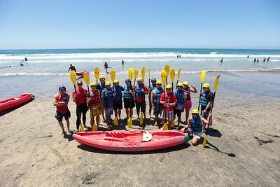 Tuesday: Kayaking