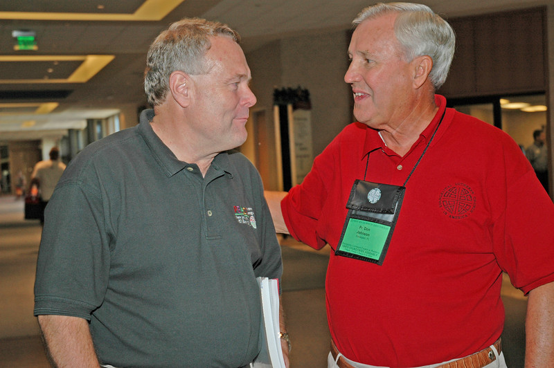 Bp. Roy Riley (New Jersey) and volunteer Pr. Don Johnson (Florida-Bahamas)