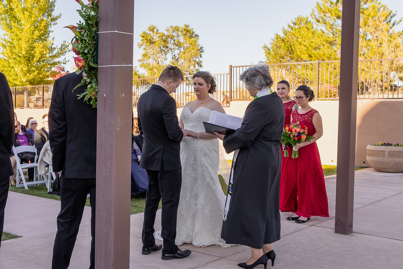 Sandia Hotel Casino New Mexico October Wedding Ceremony C&C-95.jpg