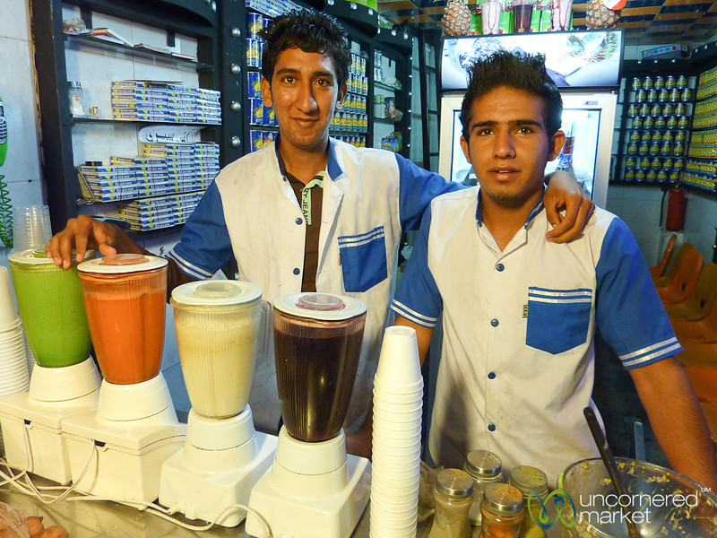 Juice Guys of Shiraz - Iran