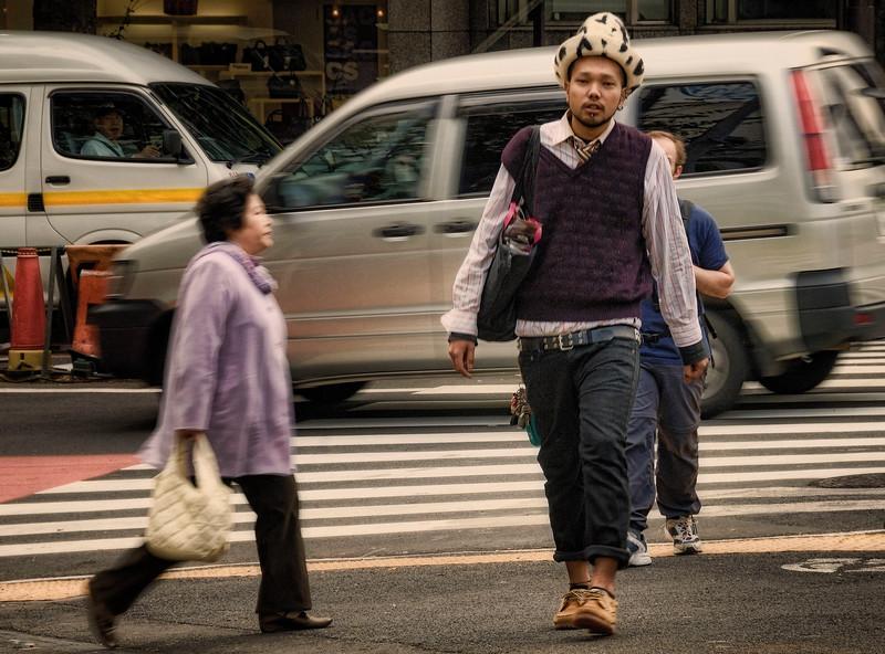 Along the Streets of Harajuku