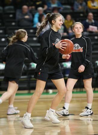 2020 Girls Basketball action