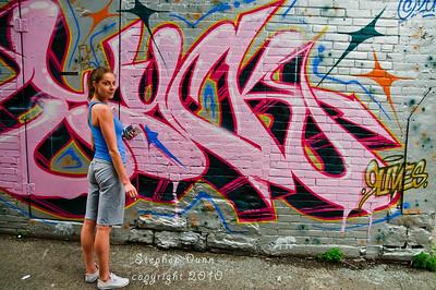 Grafiti  Queen St W Toronto