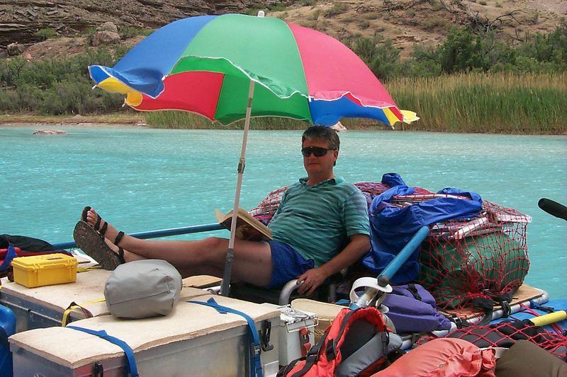 Paul under Unbrella   (May 30, 1999, 01:47pm)
