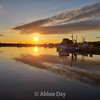 Sunset over Bonavista Harbour