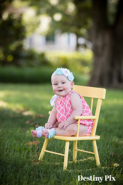 Nora's 6 Month Pix