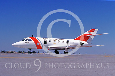 US Coast Guard Dassault HU-25 Guardian Military Airplane Pictures