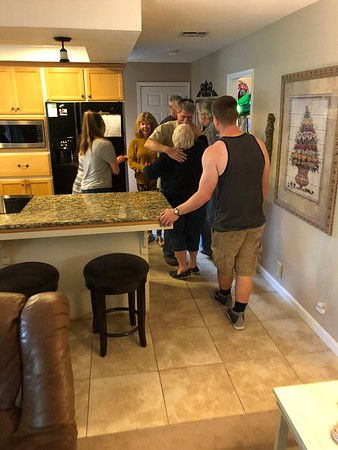 Bob's Birthday/Easter dinner 2018