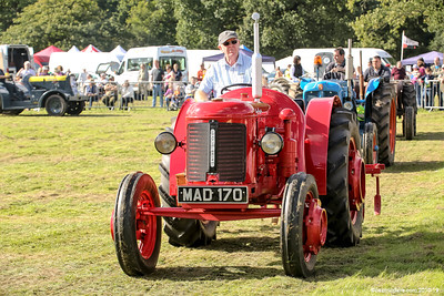 Tractors at Speech House Carnival of Transport Show 2016 - Set 4