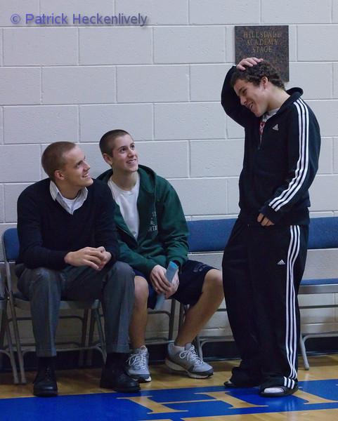 2010-12-06 Men's JV Basketball