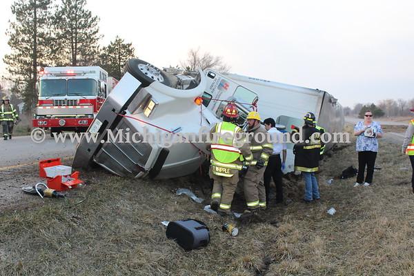 4/12/18 - Leslie extrication, US-127 @ mile marker 59
