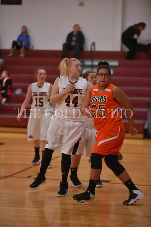 Ironton at Coal Grove Middle Girls 1-8-2018