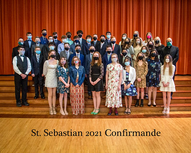 2021 St Sebastian Confirmande