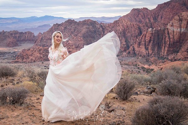 snow canyon bridals