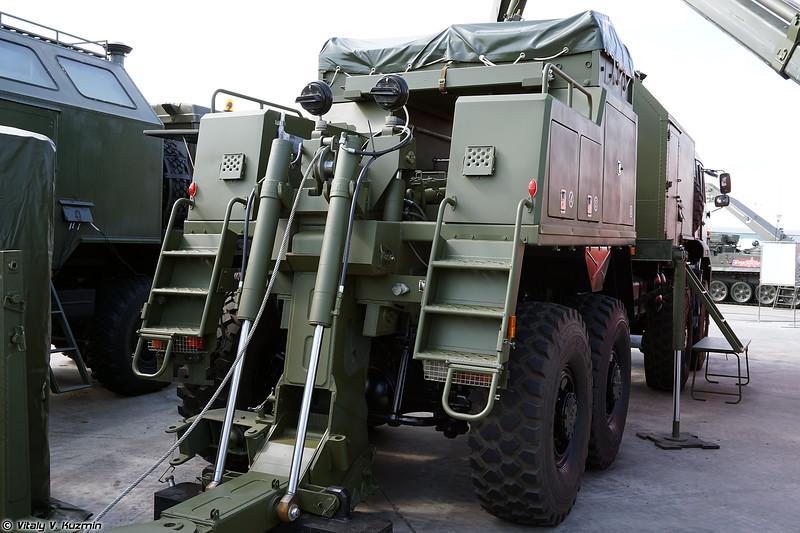 Ремонтно-эвакуационная машина РЭМ-КЛ1 (REM-KL1 recovery vehicle)