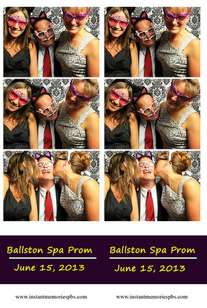 Ballston Spa Senior Prom 6-15-2013
