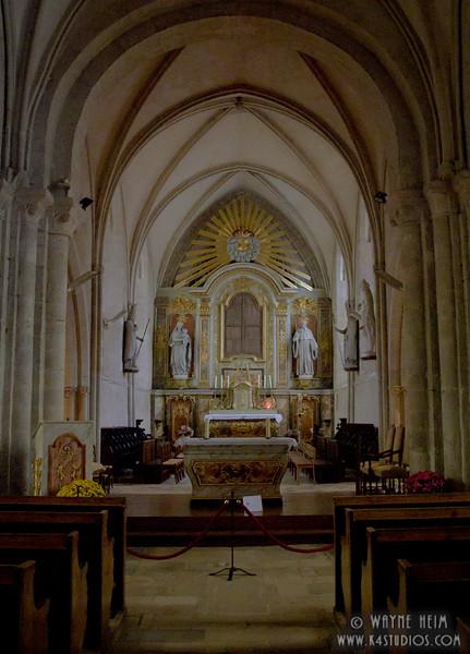 Sainte-Mere-Eglise Church 3   Photography by Wayne Heim