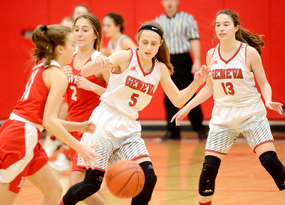 Hawken at Geneva girls basketball February 2, 2019