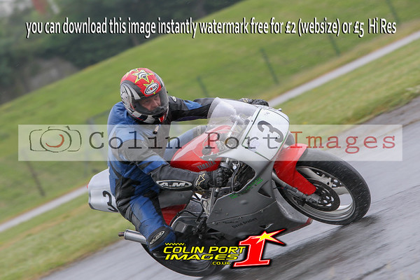 PRACTICE 1 & 2 UP TO 400cc MODERN Incl ALL F-ERA & 650 TWINS AINTREE JUNE 2016
