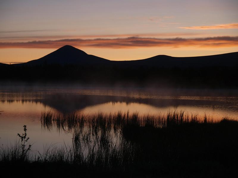 Sunrise at Venabu, Muen mountain