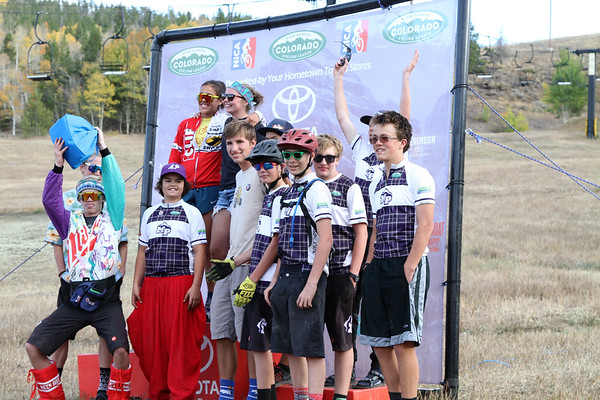 2018 Granby Ranch Round - Up Podium