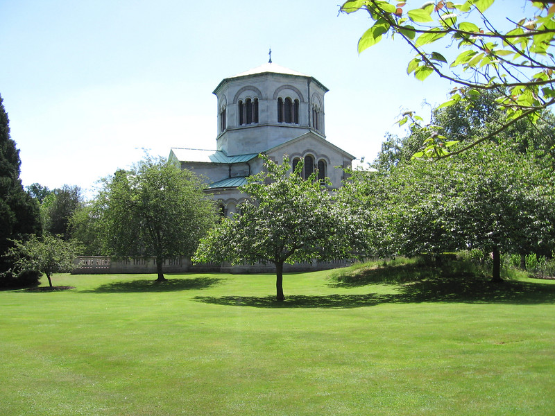 Queen Victoria's Mauseleum at Frogmore.