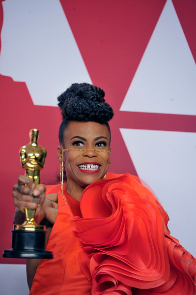 "ACADEMY AWARDS 91ST OSCARS PRESSROOM HELD AT THE LOWES HOTEL IN HOLLYWOOD CALIFORNIA ON FEBRUARY 24,2019. SET DESIGN ""BLACK PANTHER"" HANNA BEACHLER PRODUCTION & JAY HART SET DECORATION PHOTOGRAPHER VALERIE GOODLOE"