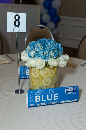 Coldwell Banker Houston Blue Party 2018