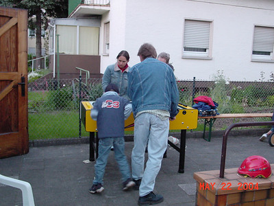 Hanging with Friends in Germany in 2004