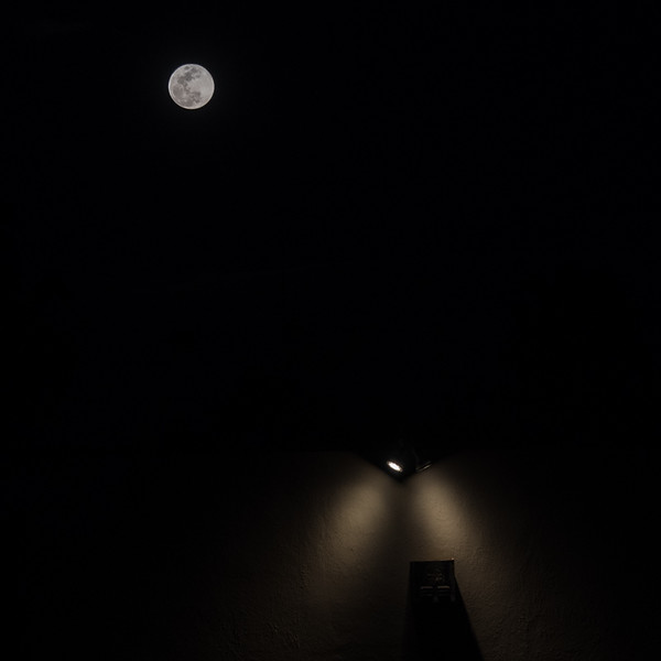 March 1 - Cascading light on a building under the full moon.jpg