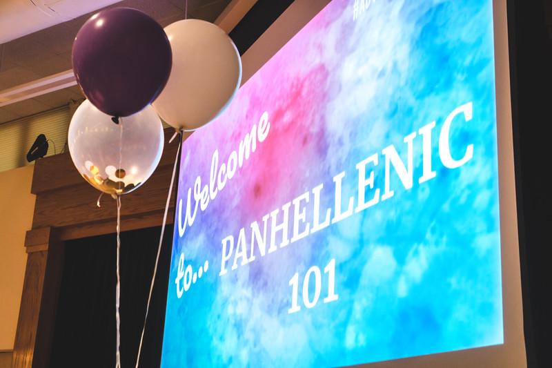 Panhellenic 101