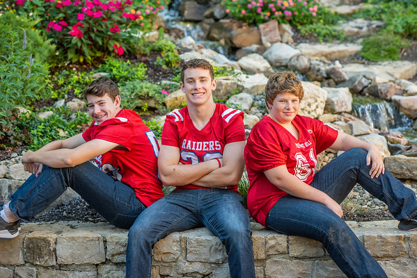 Nathan Senior Pictures and Family