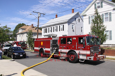 Melrose, MA - Working Fire, 57 Dell Ave, 9-11-11