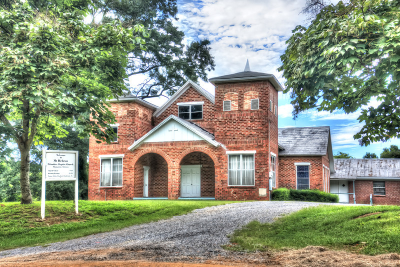 Mt. Hebron Baptist Church, Thomaston, Alabama