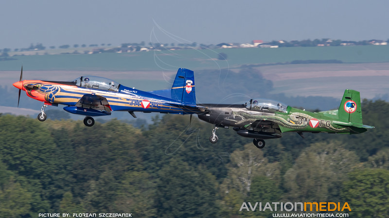 Austrian Air Force / Pilatus PC-7 / 3H FC & 3H FG / Special Livery